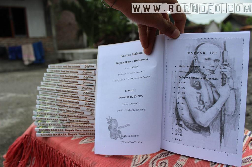 KAMUS DAYAK IBAN-INDONESIA